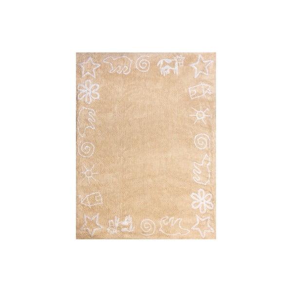 Koberec Prado 160x120 cm, béžový