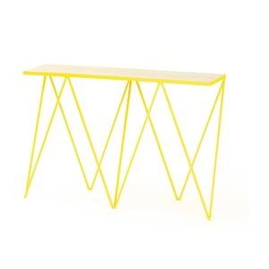 Žlutý konzolový stolek &New Giraffe