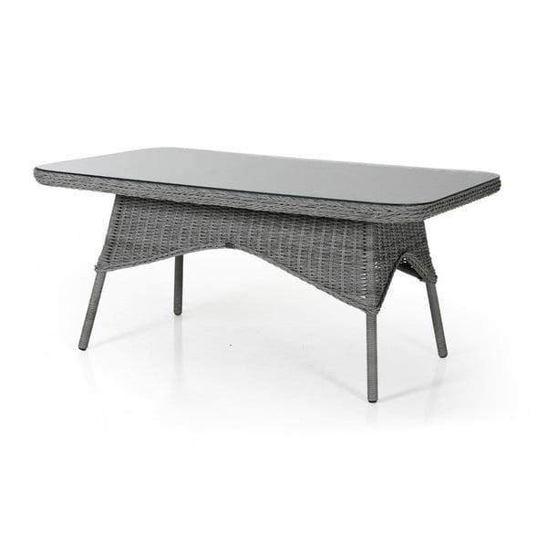 Šedý zahradní jídelní stůl Brafab Evita, 150x90cm