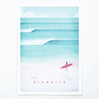 Poster Travelposter Biarritz, A2 imagine
