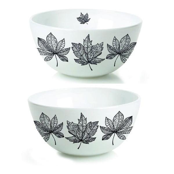 Sada 2 porcelánových misek Otono