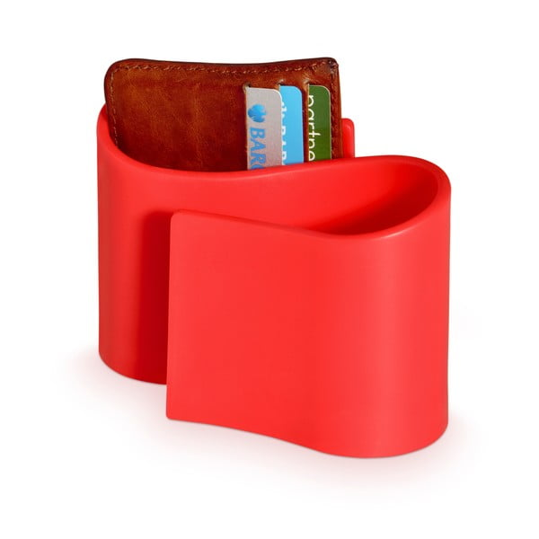 Červený stojánek J-Me Snug Tidy