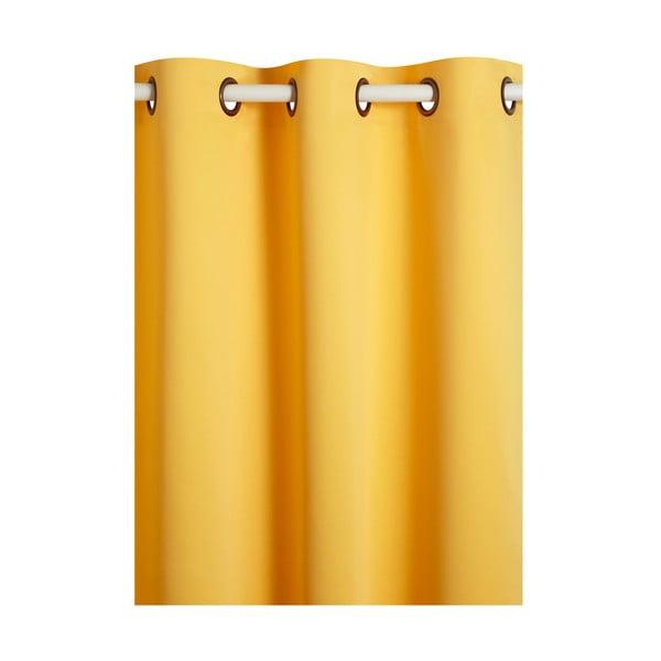 Závěs Vitamine Yellow, 140x280 cm
