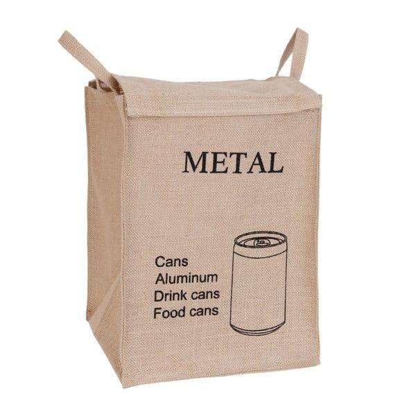 Coș pentru reciclare metal Clayre & Eef
