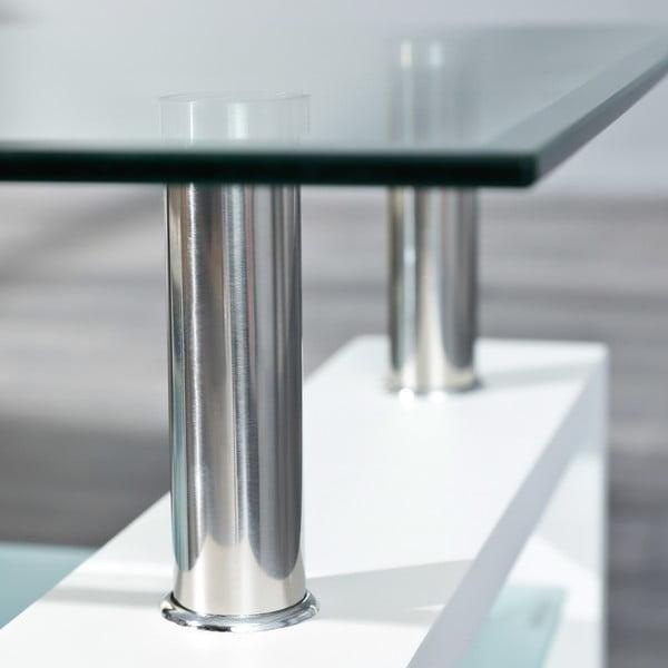 Bílý konferenční stolek Interlink Alva