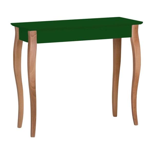 Consolă Ragaba Lillo, lățime 85 cm, verde închis