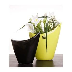 Váza Cher 21 cm, černá