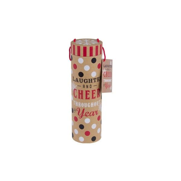 Dárková tuba na lahve Tri-Coastal Christmas Cookie
