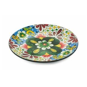 Kulatý dekorativní talíř Villa d´Este Andalucia
