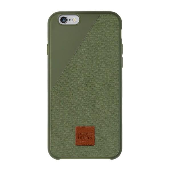 Clic 360 Case sötétzöld telefontok iPhone 6 és 6S Plus-hoz - Native Union
