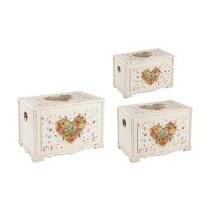 Set truhel Italiana Heart, 3 ks