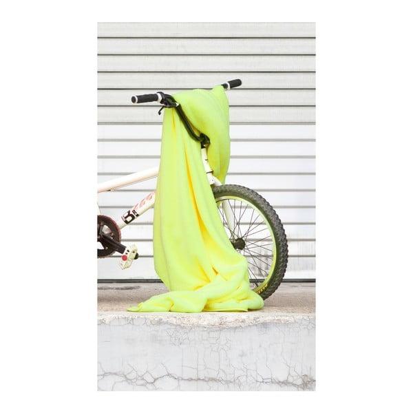 Deka S.Oliver Wells, 150x200 cm, neonově žlutá