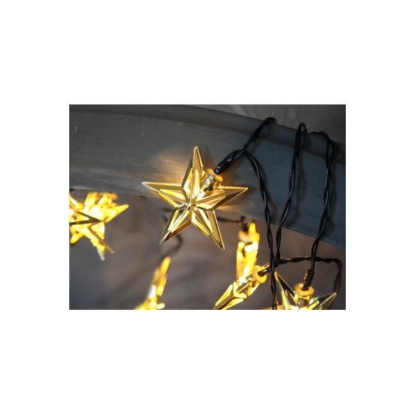 Svítící řetěz Best Season Stars Copper, 10 světýlek