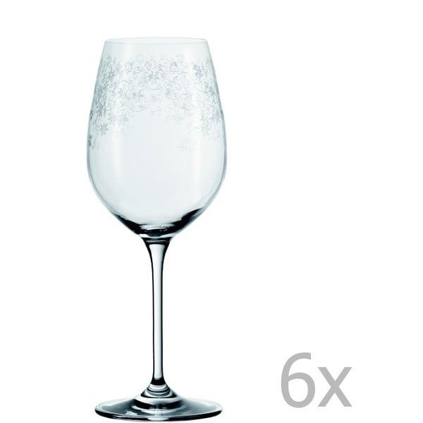 Sada 6 sklenic na bílé víno LEONARDO Chateau, 410 ml