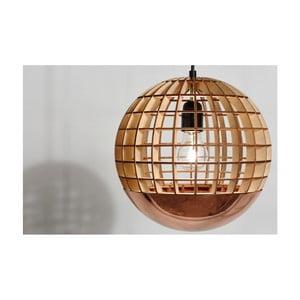 Závěsné světlo Massow Design Globe Copper