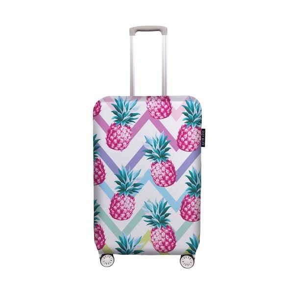 Pokrowiec na walizkę Butter Kings Pink Pineapple, rozm. S