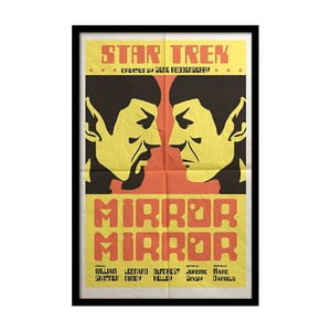 Plakát Star Trek, 35x30 cm