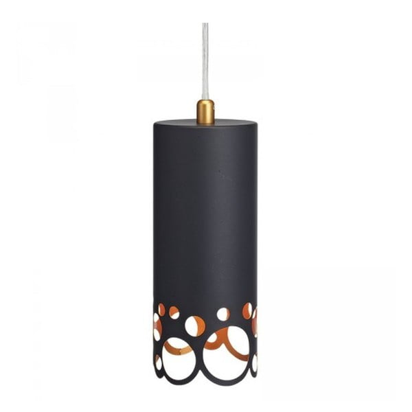 Lampa Bubbles, black, small
