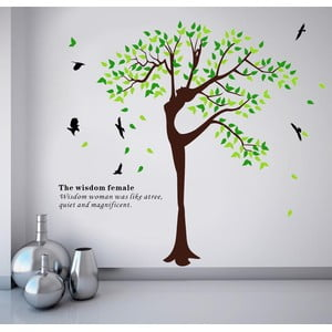 Samolepka na zeď Human Tree, 180x120 cm