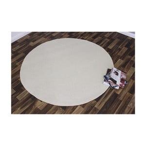 Krémový koberec Hanse Home Nasty, ⌀ 200 cm