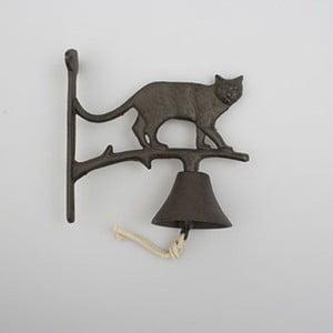 Nástěnný litinový zvonek Dakls Cat