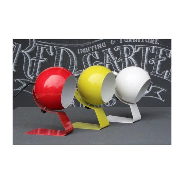 Červená stolní lampa Red Cartel Cameron