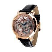 Černo-zlaté hodinky Lindberg&Sons