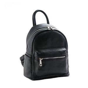 Černý batoh z pravé kůže Andrea Cardone