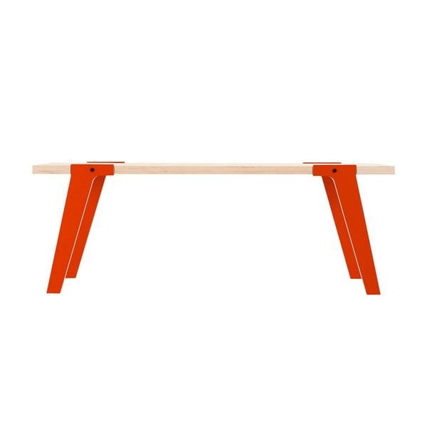Oranžová lavice na sezení rform Switch 03