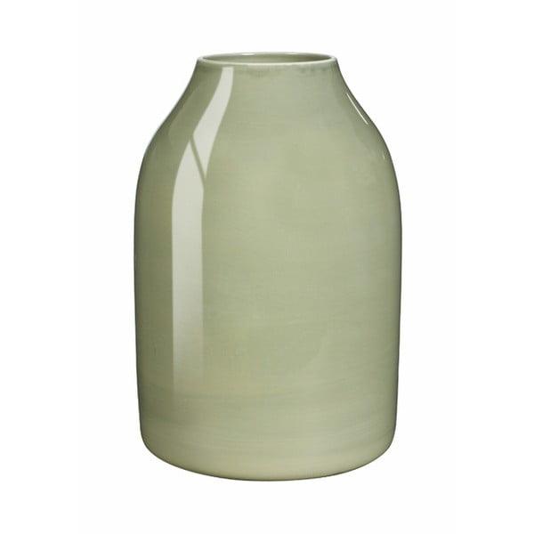 Botanica világoszöld agyagkerámia váza, magasság 12,5 cm - Kähler Design