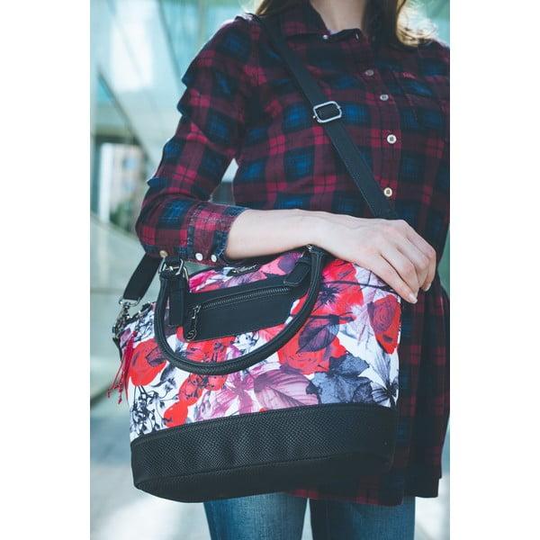 Barevná taška přes rameno SKPA-T Leaves, 30 x 20 cm