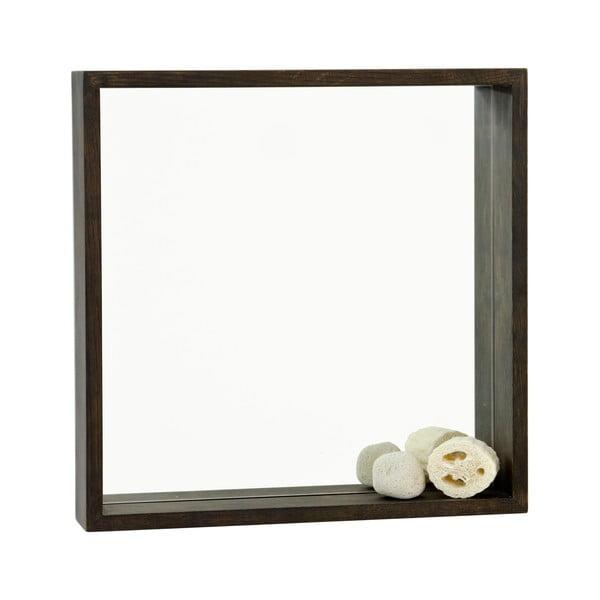 Zrcadlo s poličkou Mezza Dark