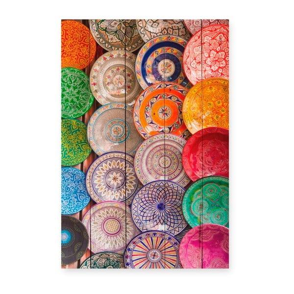 Tabla Keramic fa dekoratív tábla, 40 x 60 cm - Surdic