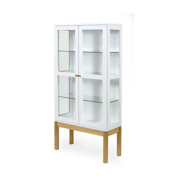 Bílá knihovna/vitrína Woodman AbbeyWood