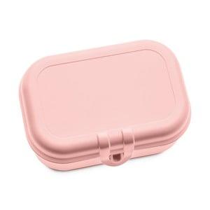 Světle růžová svačinová krabička Tantitoni Snacky
