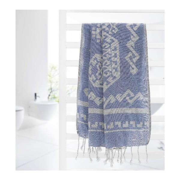 Hammam osuška Ottoman, modrá