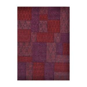 Koberec Patchwork 9 Red, 62x124 cm