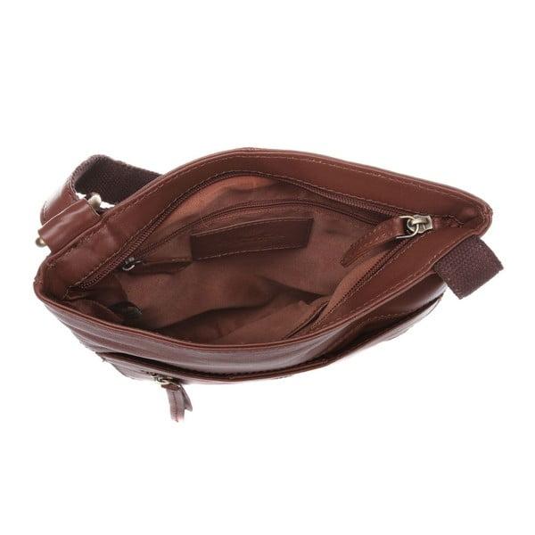 Dámská kožená taška Azaria Whiskey Cross-Body