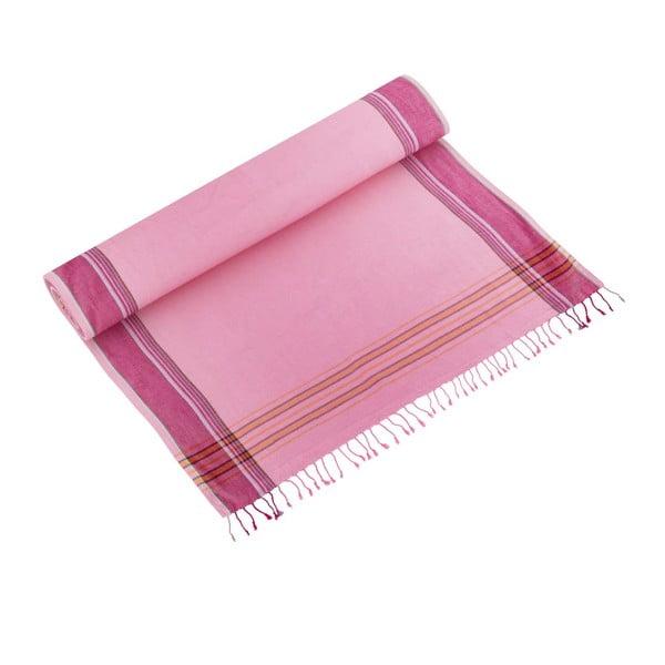 Ručník Zeki Pink, 100x178 cm