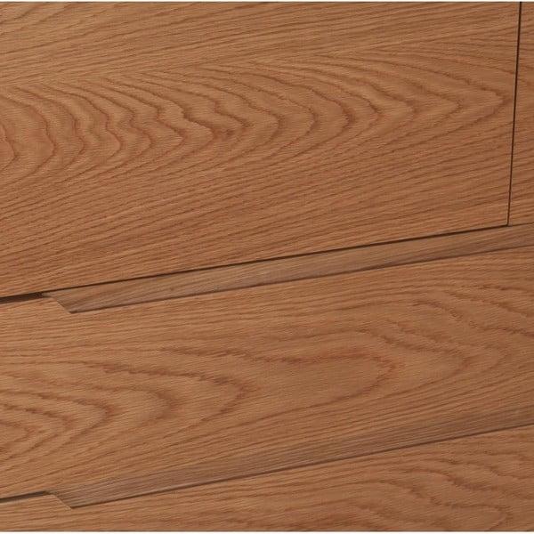 Skříň ze dřeva a kovu Ángel Cerdá Notio, 120 x 39 cm
