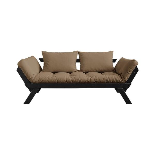 Canapea extensibilă Karup Design Bebop Black/Mocca