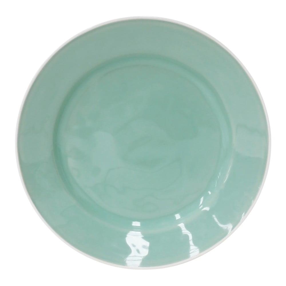 Světle zelený kameninový talíř Costa Nova Astoria, ⌀ 28 cm