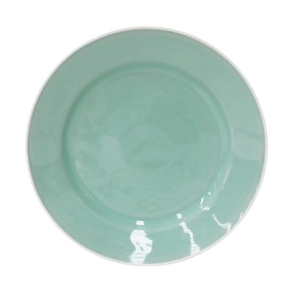 Keramický talíř Astoria 28 cm, mátový