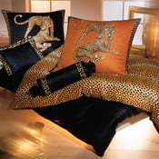 Povlečení Gepard Pair 140x200 cm, černá