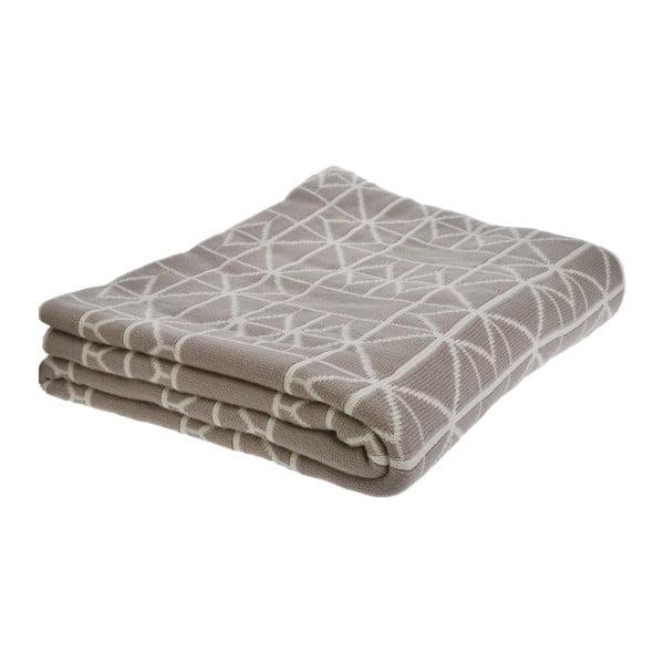 Béžová deka Ewax, 125 x 150 cm