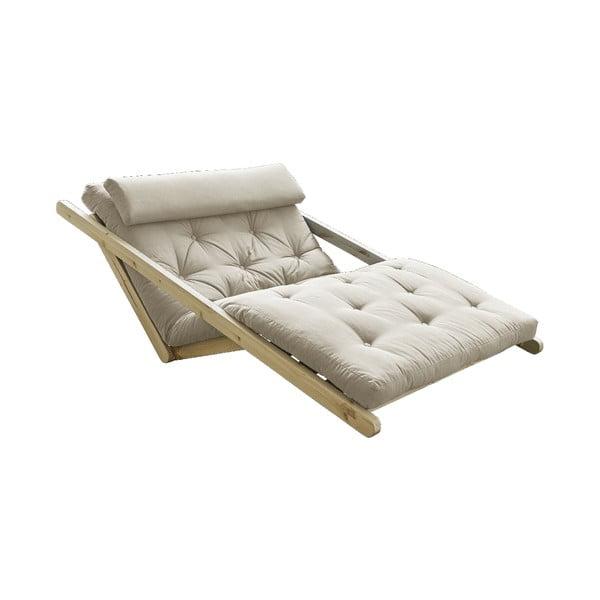Canapea extensibilă Karup Design Figo Natural, bej