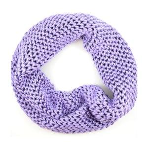 Dámská kruhová šála Komin Purple