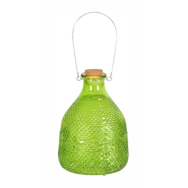 Zelený skleněný lapač vos Esschert Design Valeria