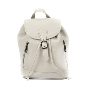 Šedý kožený batoh Luisa Vannini Doria