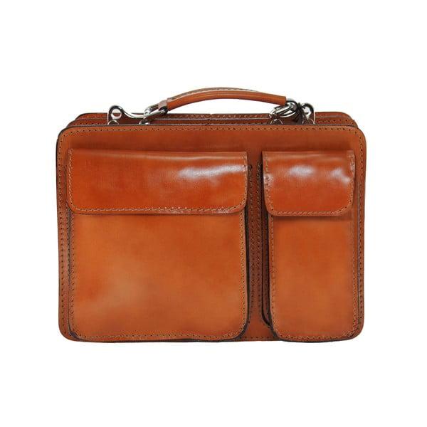 Kožený kufřík Chianti, medový